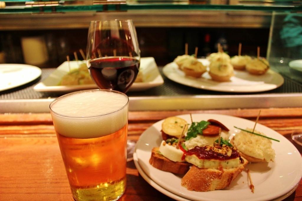 Tapas Bars in Barcelona: Taverna Basca Irati