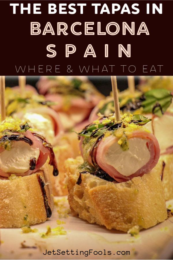 The Best Tapas in Barcelona by JetSettingFools.com