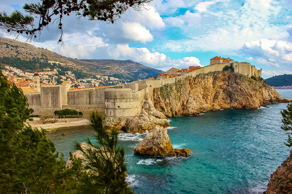 Dubrovnik Viewpoint from Fort Lawrence