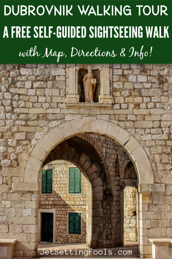 Dubrovnik Walking Tour Free Self Guided Sightseeing by JetSettingFools.com