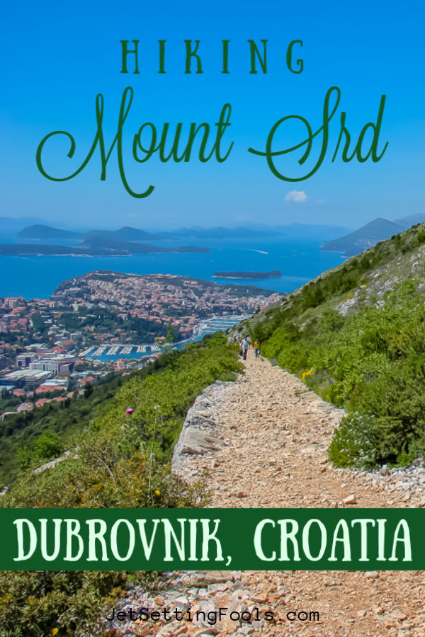 Hiking Mount Srd, Dubrovnik, Croatia by JetSettingFools.com