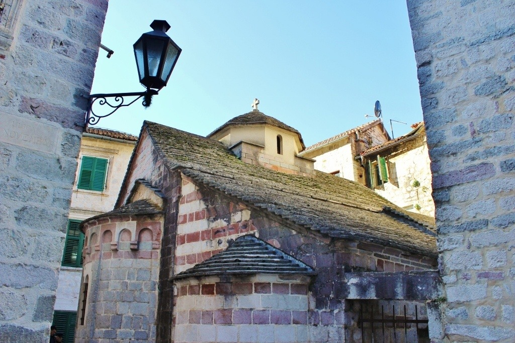 St. Anne's, a historic church in Kotor, Montenegro