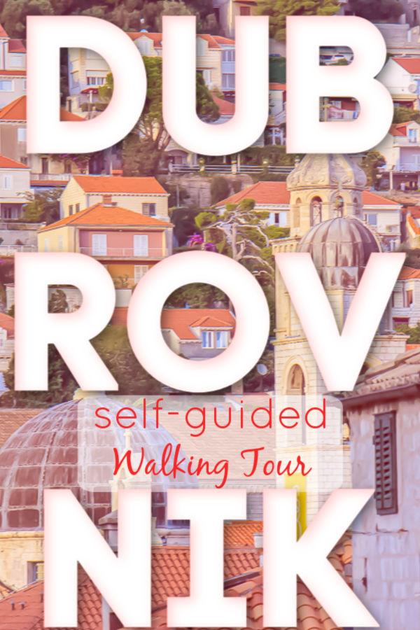 A Dubrovnik Croatia Free Walking Tour Self Guided by JetSettingFools.com