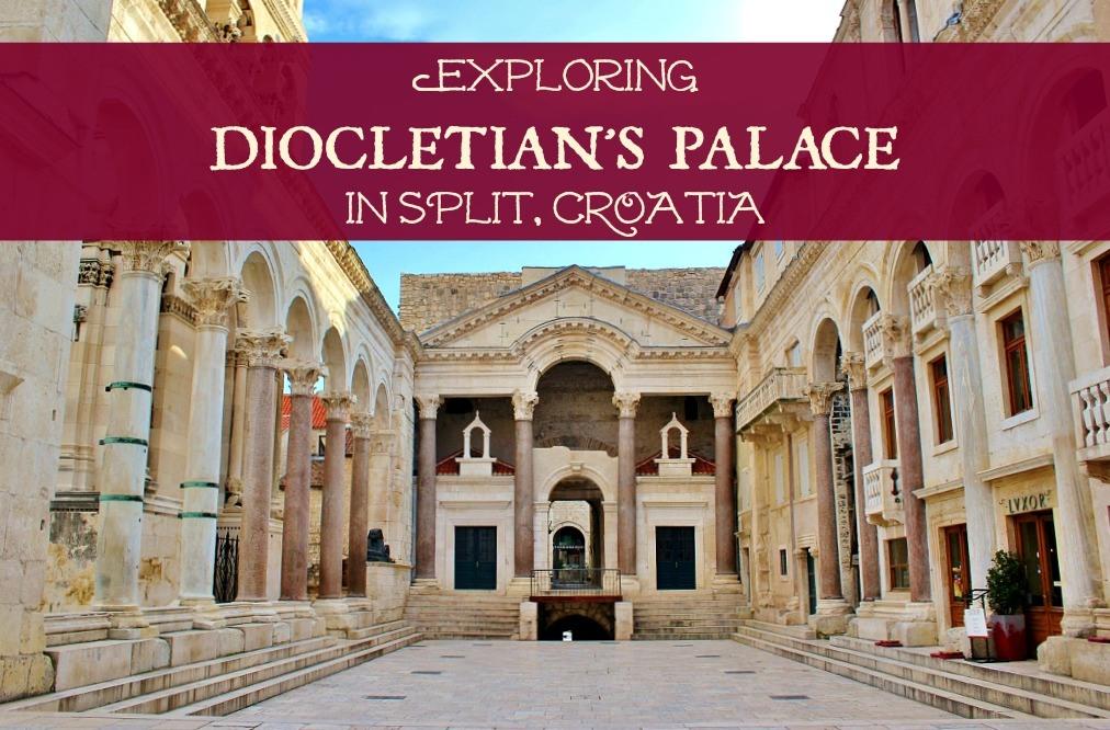 Exploring Diocletian's Palace in Split Croatia by JetSettingFools.com