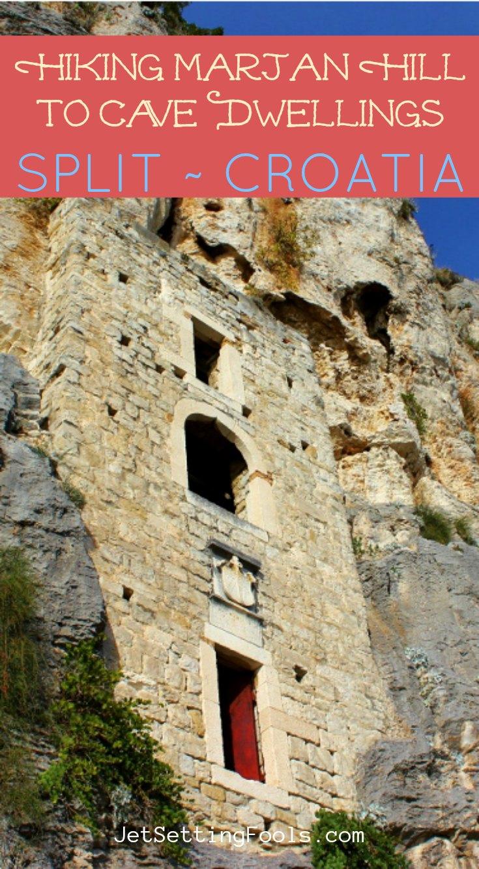 Hiking Marjan Hill Cave Rock Dwelling, Split, Croatia by JetSettingFools.com