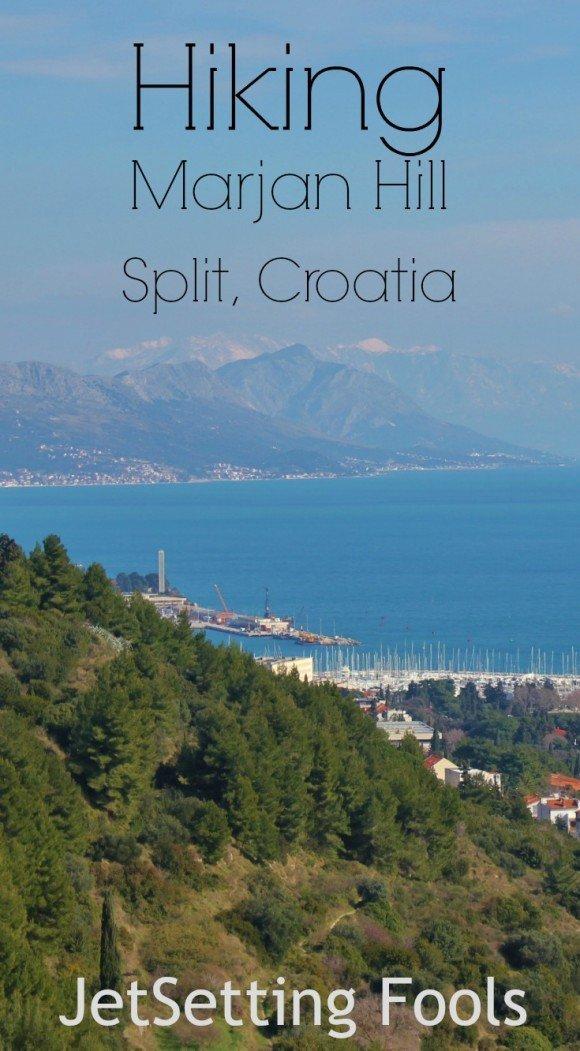 Hiking Marjan Hill Pin Croatia JetSetting Fools