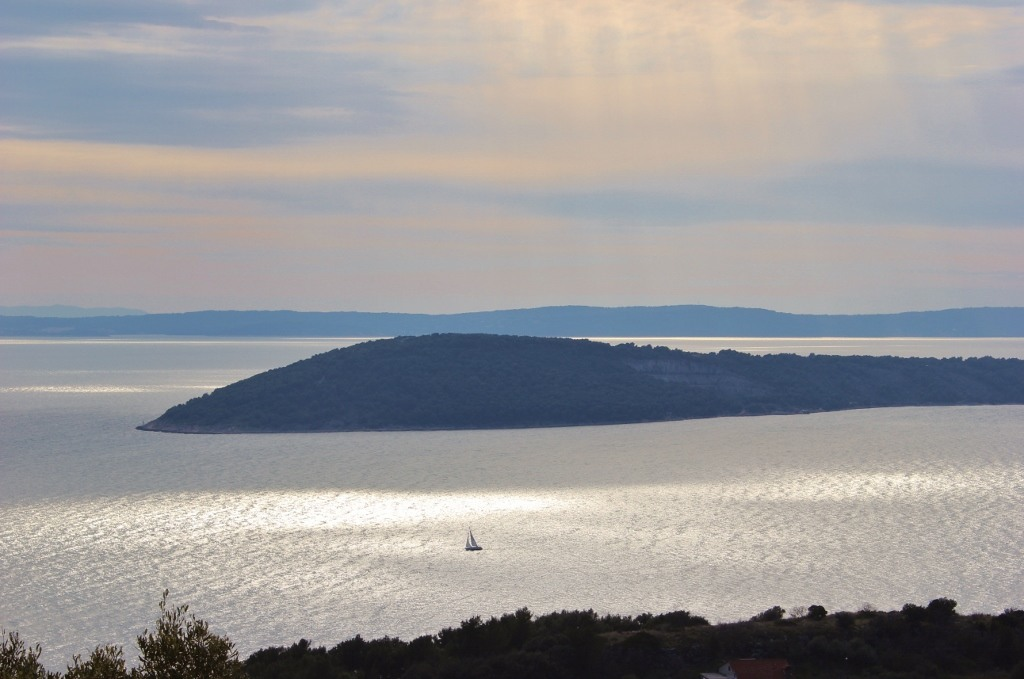 Hiking Marjan Hill: Views out to sea
