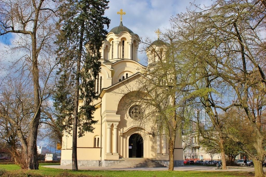 St. Cyril and Methodius Serbian Orthodox Church in Ljubljana, Slovenia