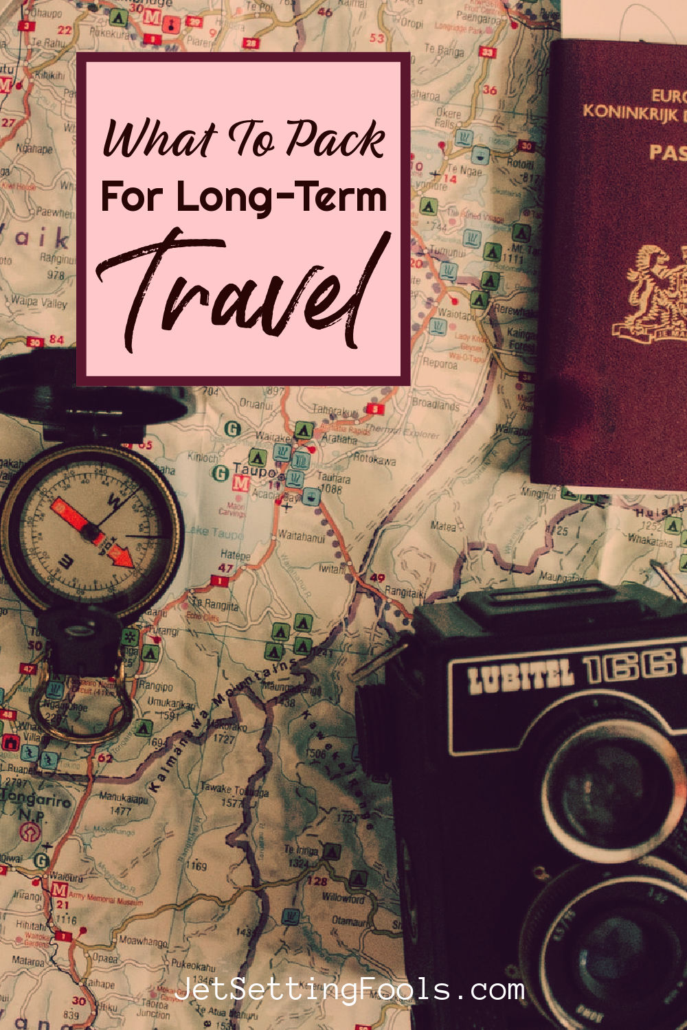 What To Pack for Long Term Travel by JetSettingFools.com