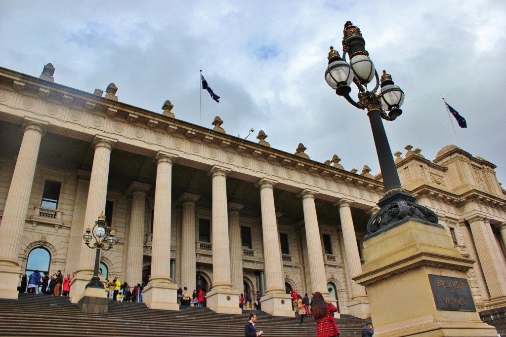 Self-guided walking tour of Melbourne: Stop 5, Parliament House