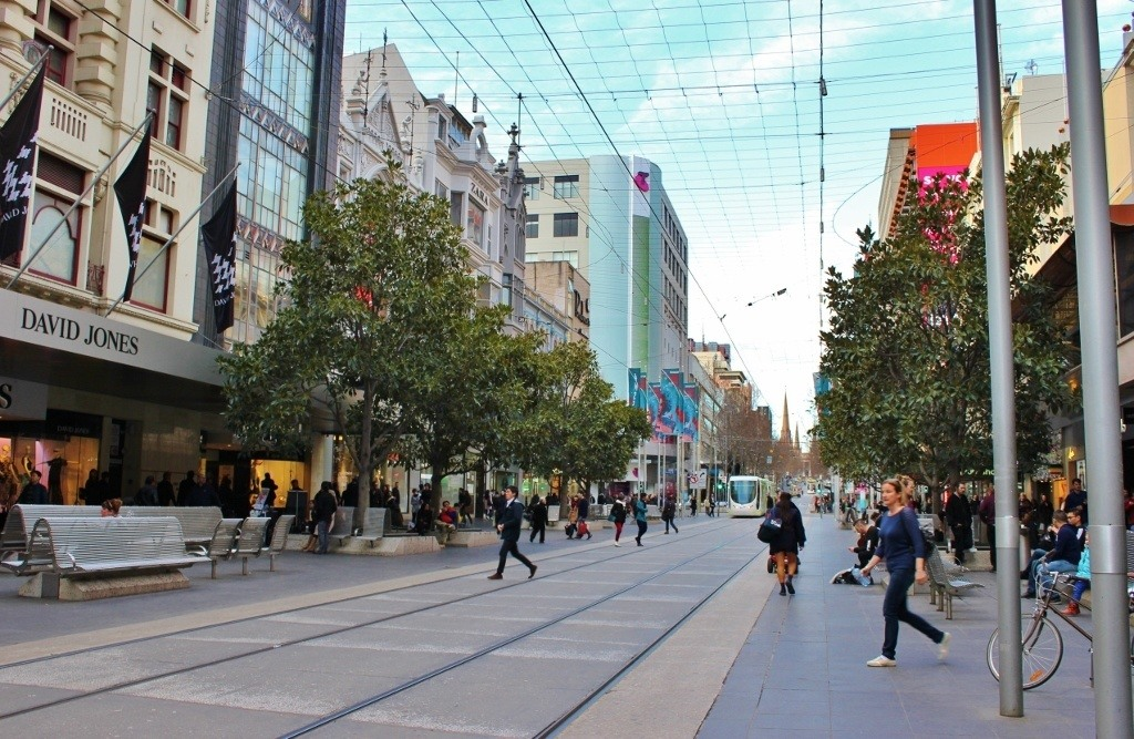 Self-guided walking tour of Melbourne: Stop 7, Bourke Street Mall