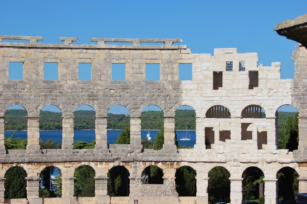 Amphitheater, Pula, Croatia