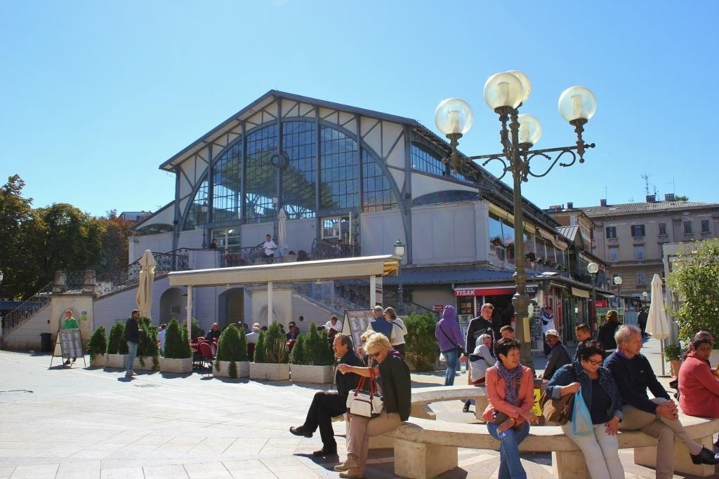 Historic Pula, Croatia Market Hall