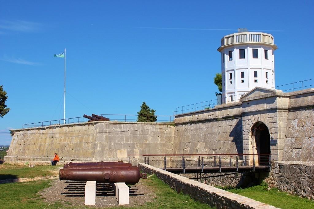 Fort Kastel in Pula, Croatia