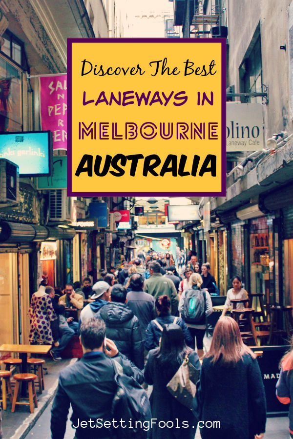 Laneways in Melbourne Australia by JetSettingFools.com