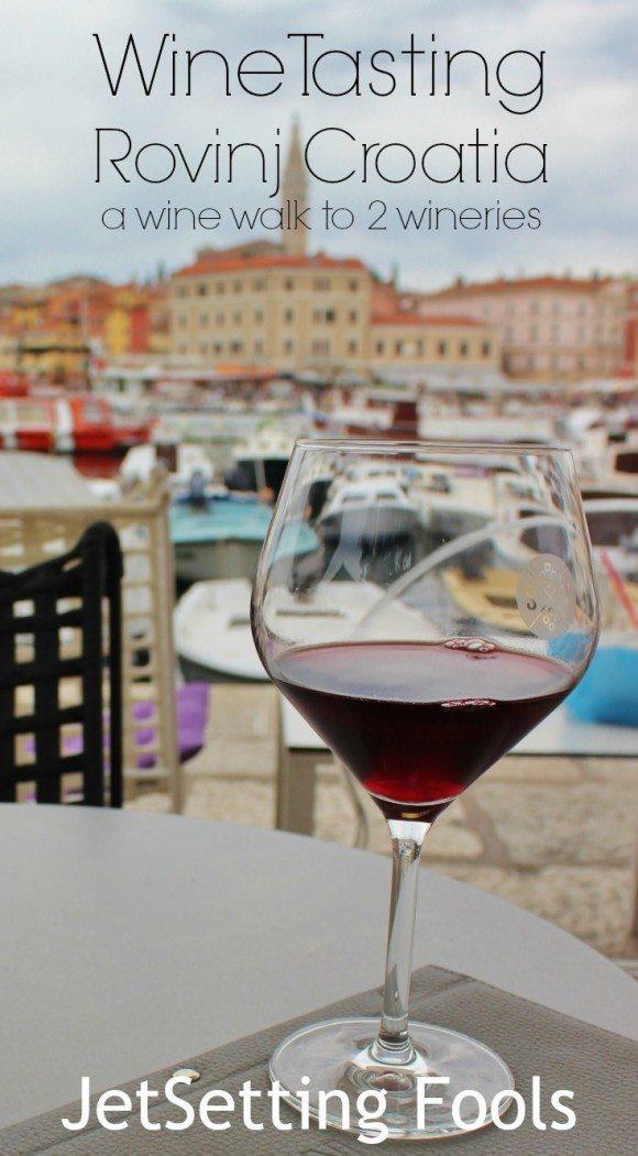 wine tasting in Rovinj