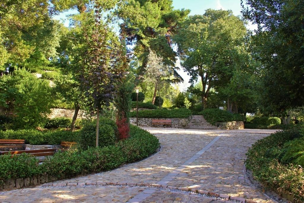 Queen Jelena Mdijevka Park in Zadar, Croatia