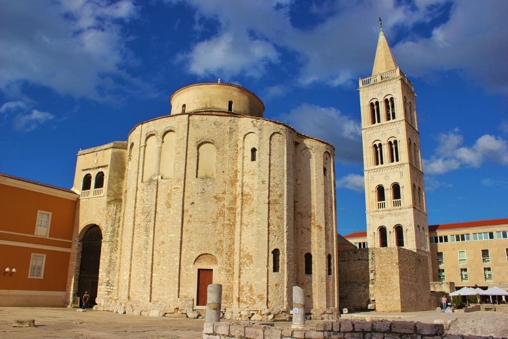 St. Donatus' Church in Zadar, Croatia looks exactly as it did in the 9th century