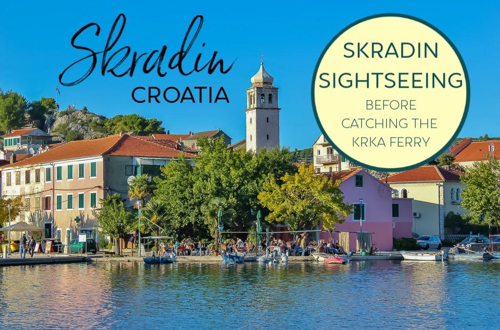 Skradin, Croatia: Sightseeing before Catching the Krka Ferry by JetSettingFools.com