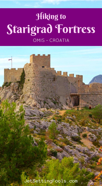 Hiking To Starigrad Fortress, Omis, Croatia by JetSettingFools.com