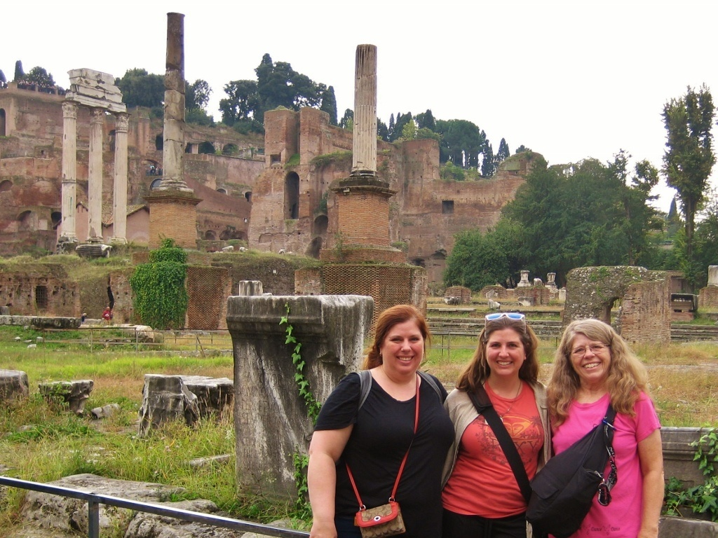 Budget Sightseeing in Rome with family