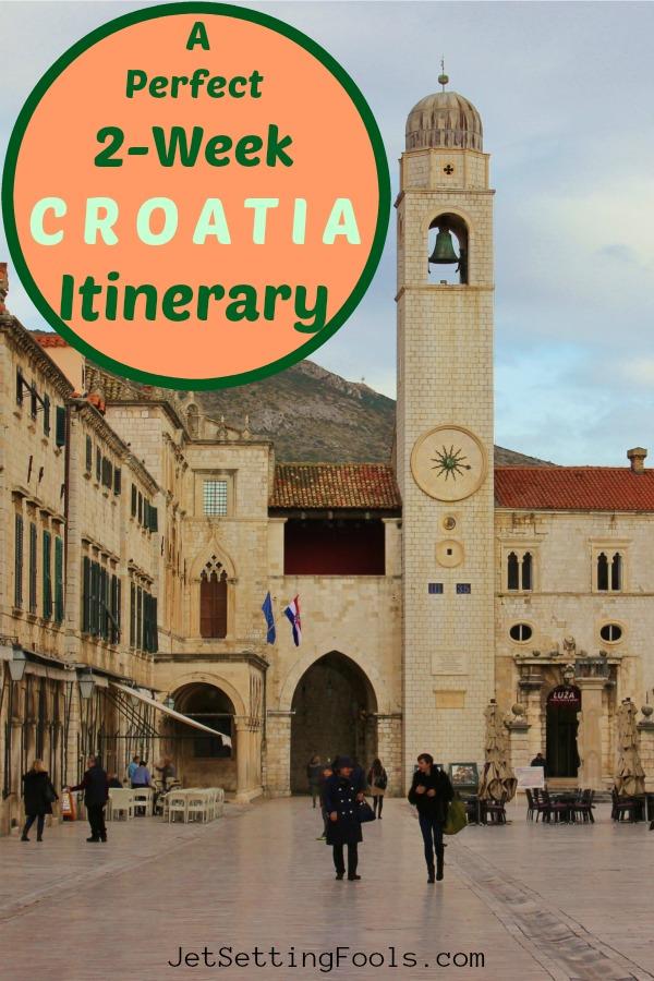 A Perfect 2 Week Croatia Itinerary by JetSettingFools.com