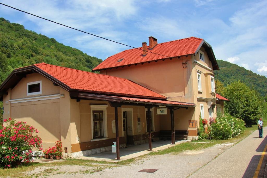Avce Train station on Bohinj Railway