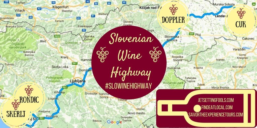 Slovenian Wine Highway JetSettingFools.com