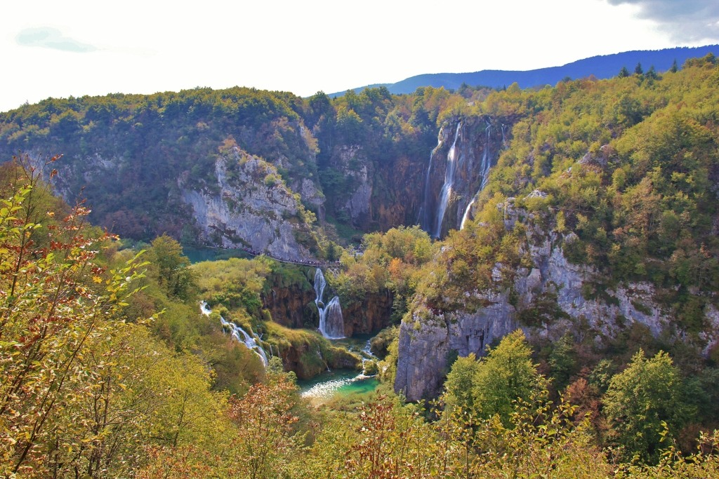 Waterfalls, Plitvice Lakes National Park, Croatia
