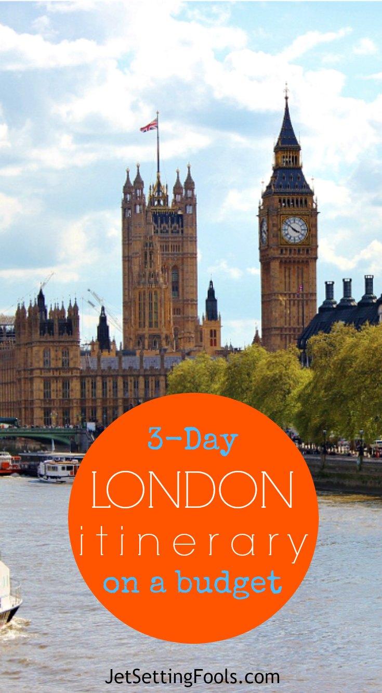 3-Day London Itinerary on a Budget JetSettingFools.com