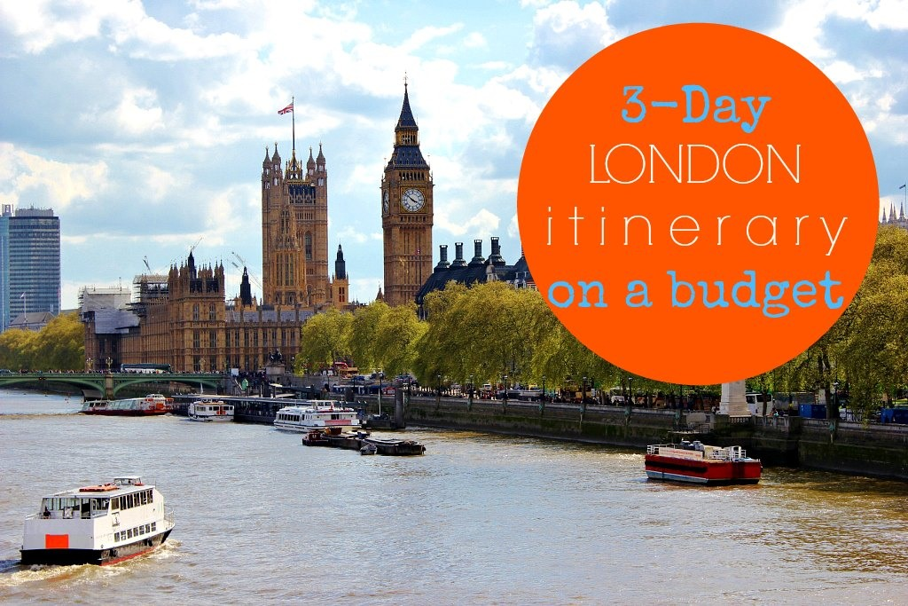 3-Day London Itinerary on a budget