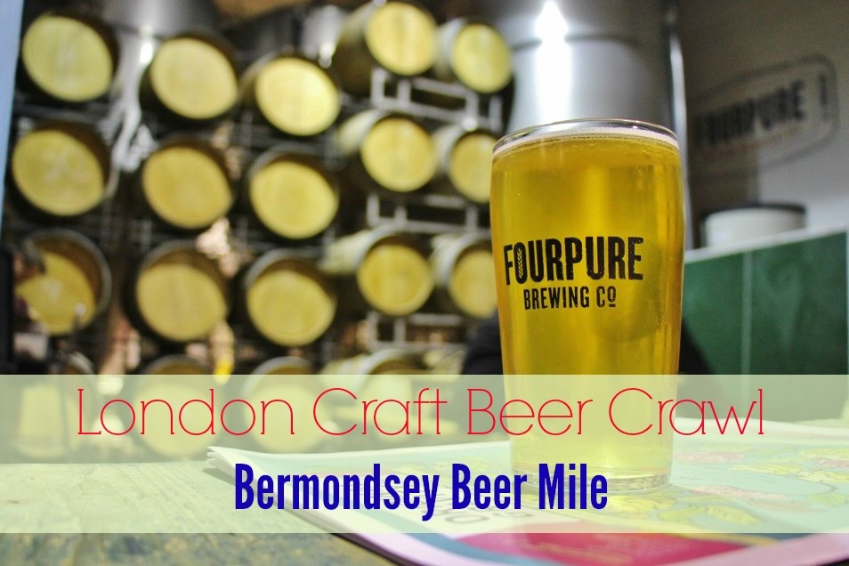 London Craft Beer Crawl Bermondsey Beer Mile JetSetting Fools