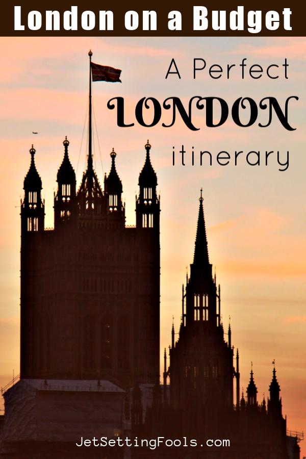 Perfect 3-Day London Itinerary by JetSettingFools.com