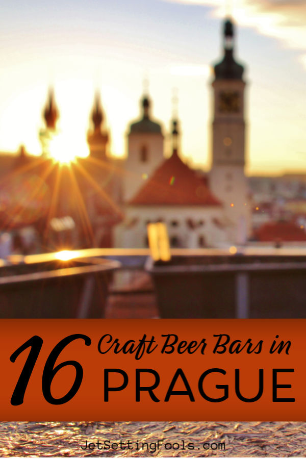 16 Craft Beer Bars in Prague by JetSettingFools.com