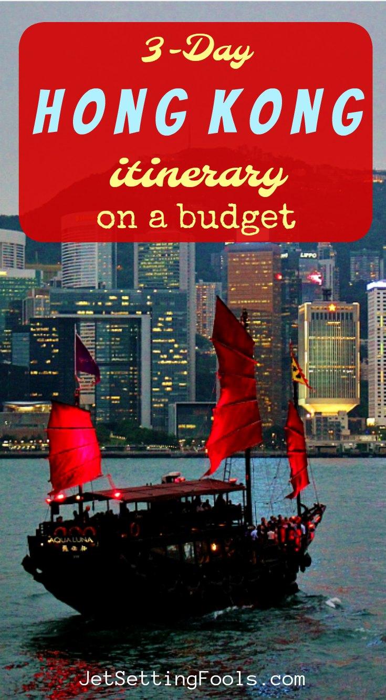 3-Day Hong Kong Itinerary on a budget by JetSettingFools.com