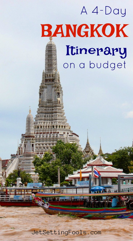 A 4-Day Bangkok Itinerary on a Budget by JetSettingFools.com