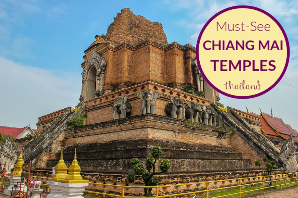 Must-See Chiang Mai Temples by JetSettingFools.com