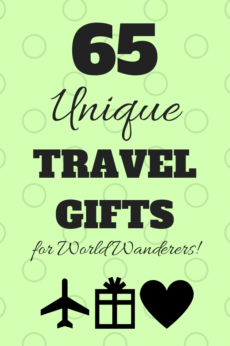 65 Unique Travel Gifts by JetSettingFools.com