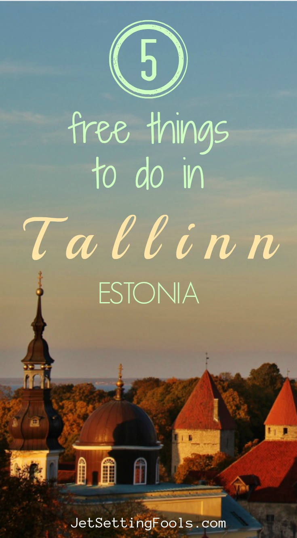 Free Things to do in Tallinn, Estonia by JetSettingFools.com