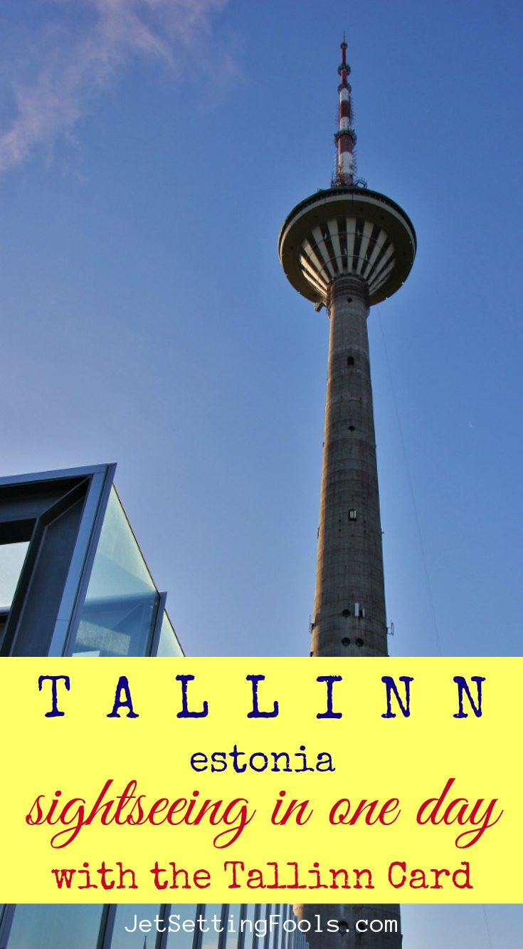 Tallinn Estonia Sightseeing in One Day with the Tallinn Card by JetSettingFools.com