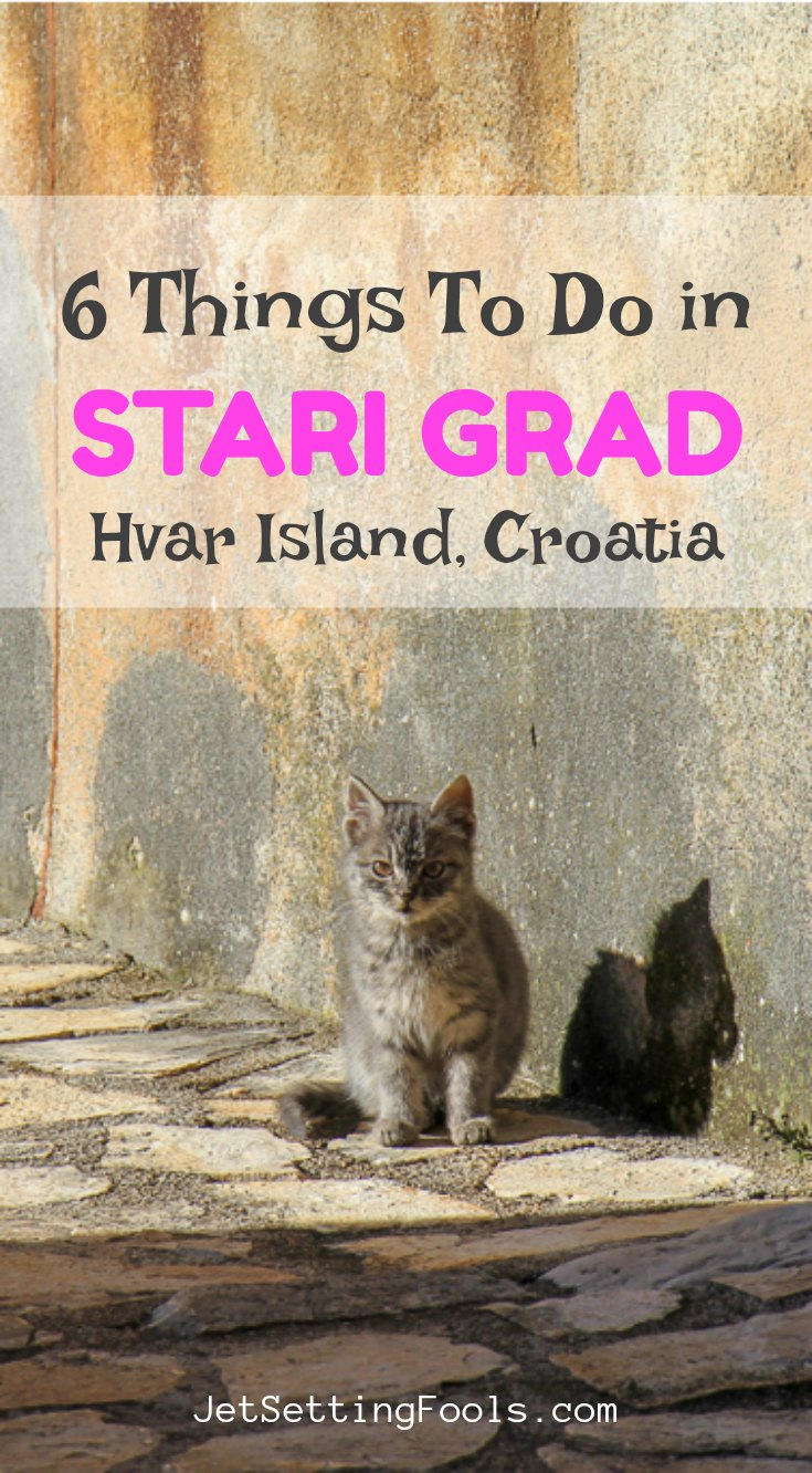 6 Things To Do in Stari Grad Hvar by JetSettingFools.com
