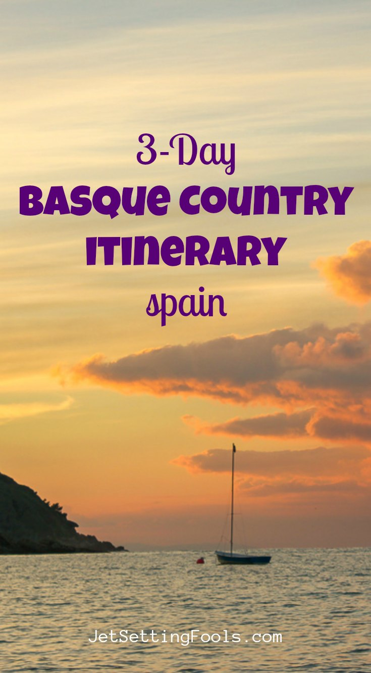 Basque Itinerary by JetSettingFools.com