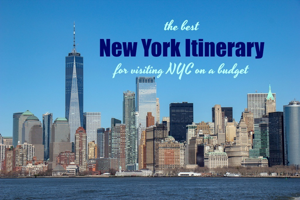 The Best New York Itinerary for Visiting NYC on a Budget by JetSettingFools.com