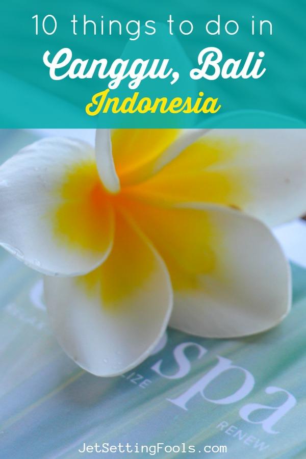 10 Things To Do in Canggu, Bali by JetSettingFools.com