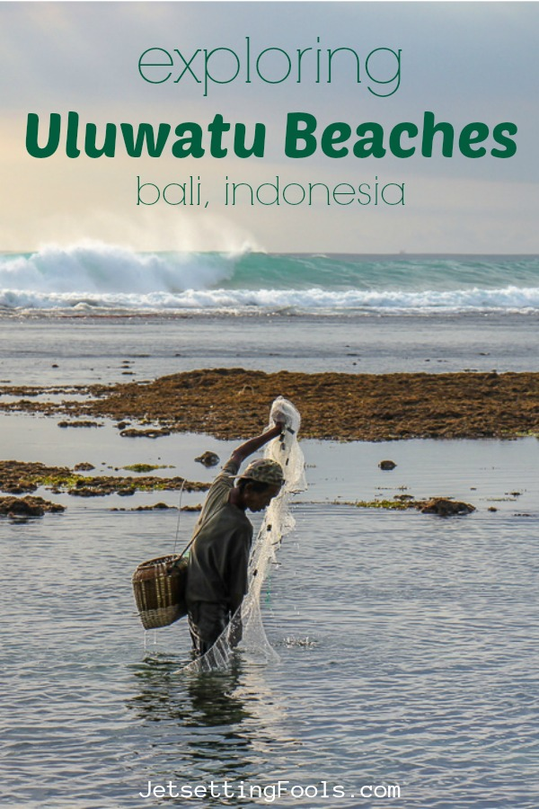 Exploring Uluwatu Beach, Bali, Indonesia by JetSettingFools.com