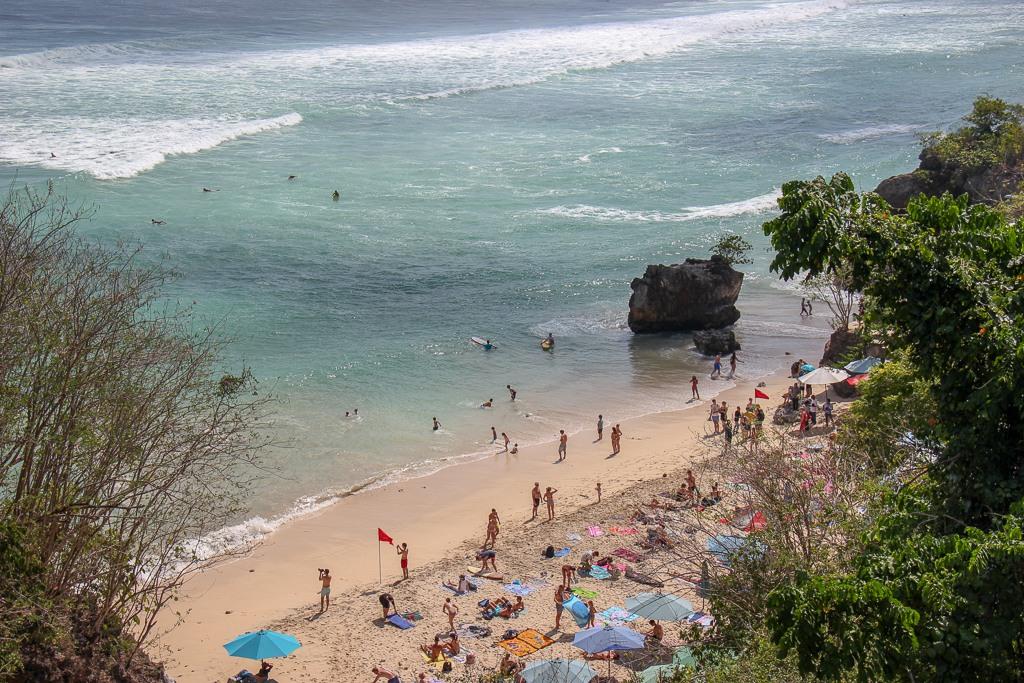 Labuan Sait Beach Padang-Padang Beach in Uluwatu, Bali, Indonesia