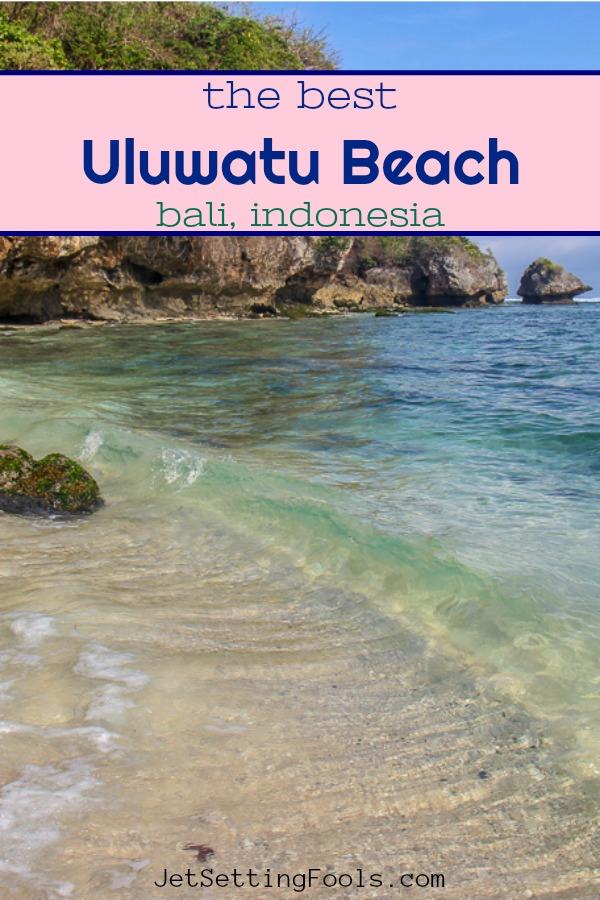 Uluwatu Beach, Bali, Indonesia by JetSettingFools.com