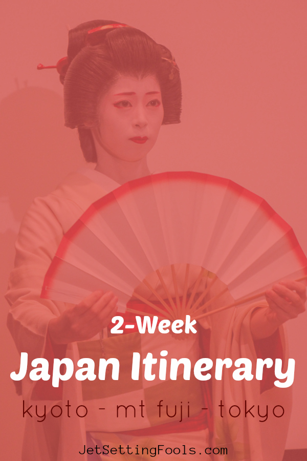 2-Week Japan Itinerary by JetSettingFools.com