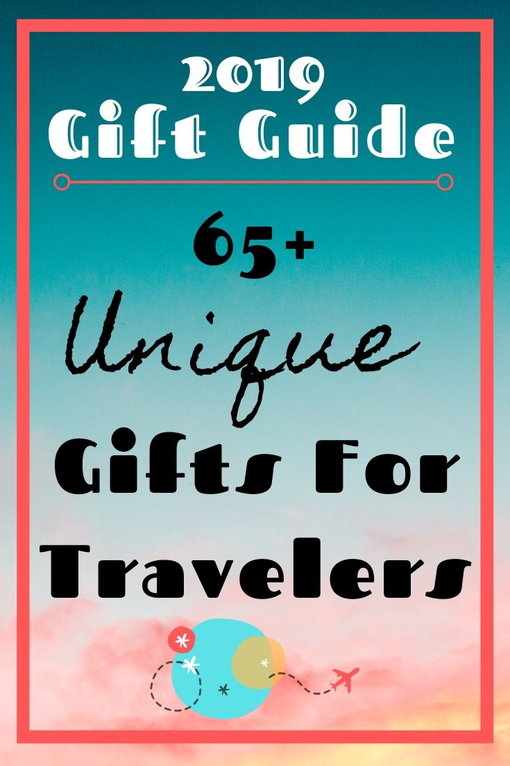 2019 Unique Gifts for Travelers by JetSettingFools.com
