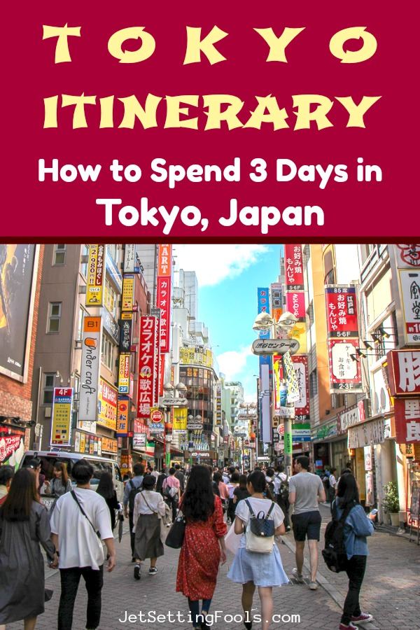 3-Day Tokyo Itinerary by JetSettingFools.com